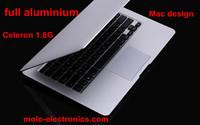 Free shipping 13.3inch ultrabook aluminiun notebook computer laptop PC Intel Celeron 1037U dual core 1.8Ghz  4GB ram  SSD 128GB
