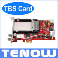 TBS6991 DVB-S2 Dual Tuner Dual CI PCIe Card,Watching and Recording Digital Satellite TV/PayTV on PC