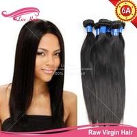 Unprocessed 6a brazilian virgin hair weave straight sale, mocha hair, free shipping 3 bundles brazilian virgin hair straight