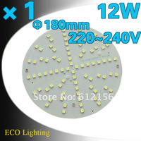 Free Shipping + 1pcs 12W SMD5050 LED Magnetic Ceiling Plate Circular Tube Lights+Replace To 28W Traditional 2D Circular Tube