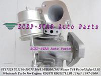 GT1752S 701196-5007S 14411-VB300 701196 TURBO Turbine Turbocharger FIt For Nissan Y61 Patrol Engine RD28TI RD28ETI 2.8L 129HP