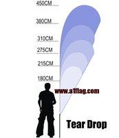 275cm Custom Printing Teardrop Banner Set (M)