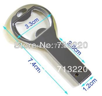 USB Drives  2GB 8GB 16GB Bottle opener 4GB Beer Promotion Free 32GB beerhouse Free Presents Genuine True Capacity!