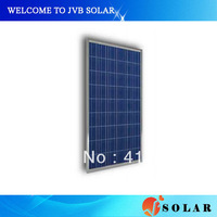 130w photovoltaic pv solar panels installation house roof for power cell module system CE TUV certificate