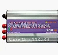 250W Wind Turbine Generator on Grid Tie Power Inverter dump load,invertor dc 12/24v to ac 220v,50/60Hz