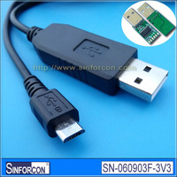 FT232RL USB UART TTL cable, Android panel PC micro usb uart cable