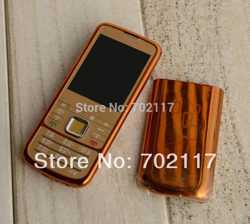 4 Sim 6700 free analog TV flashlight Dual TF slot music cell phone(China (Mainland))