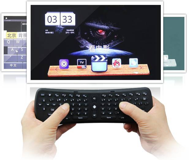 Rikomagic MK220 Sensor Remote,Fly air mouse+wireless mouse + remote control(MK220)