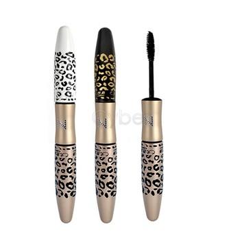 10Pcs/Lot New Leopard Waterproof Lengthening Extension Eyelash Eye Lash Transplanting Gel Fiber Mascara Makeup Free Shipping