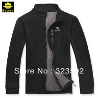 BOTACK BRAND Men's Windproof jacket RED/BLACK/BLUE composited fleece winter jacket ,thermal jacket sports wear LMT2-1015