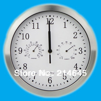 M1/High Quality 10 inch wall clock of minute hand moves continuous with super silent no tick tack / fast and free shipping