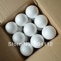 8cm Polystyrene Styrofoam Balls for toy craft model , christmas balls decoration
