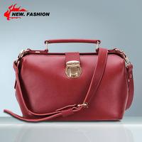 Hot Sale New 2014 Fashion Vintage Box Genuine Leather Women Handbags Tote Lady Evening Bags Messenger Bag 0041 free shipping