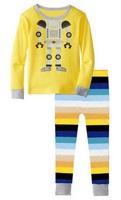 Excellent Quality Girl's Short Sleeves Cartoon Pajamas Sets Children's Summer Lycra Nightwear, 6 Sizes (2T-7T) - GPA259/GPA265