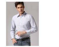 Freeshipping Autumn winter blue black striped man gentleman men's Business casual slim fit stylish cotton shirt FZ-M002-50ST3