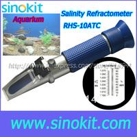 Portable Practical Salinity Aquarium Refractometer RHS-10ATC(Blue)