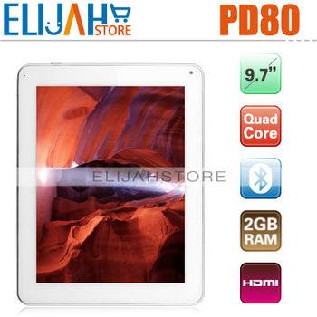 "IN STOCK Original Freelander PD80 Vogue Exynos4412 Quad Core tablet pc 9.7"" IPS RAM 2GB ROM 16GB Dual Camera Wifi Bluetooth HDMI"