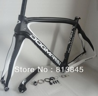 2013 Pinarello Dogma 65.1 frame, full carbon fiber road bike white color frameset, bicycke frame free shipping