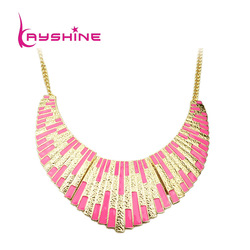 Free shipping 2013 Fashion Top Costume Jewelry Shining Bib Collar Necklace(China (Mainland))