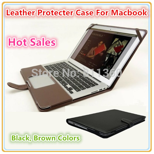 Fashion PU Leather Protecter Sleeve Case For Macbook Air 11 Air 13 Pro13 Pro 15, Cover, Bag, Wholesales, Drop Free Shipping.(China (Mainland))