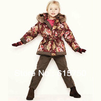 100% Positive feedback girl coat !Children's winter clothes/jacket for girl,girl's jacket wholesale price with limited quantity