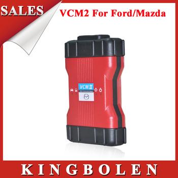 [2pcs/lot] Wholesale 2014 High Quality V90.1 VCM2 Diagnostic Scanner VCM II IDS OBD2 Scanner DHL Free