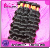 Top 6a wet natural wavy human hair 3pcs brazilian hair weave bundles color 2 or 1b virgin brazilian hair natural wave loose wave