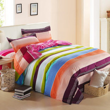 Free Shipping! King Size 4Pcs Bedding Set applicable for 1.5-1.8 meters matress(China (Mainland))
