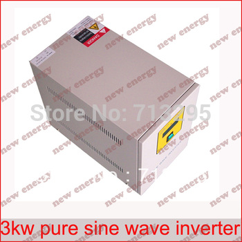 Free Shipping! Industrial Frequency high quality 3000VA  48v 96v 110v 120v 220v  off grid inverter / pure sine wave inverter