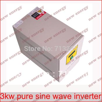 Free Shipping! Industrial Frequency high quality 3000VA  48v 96v 110v 120v 220v  off grid inverter / pure sine wave inverter
