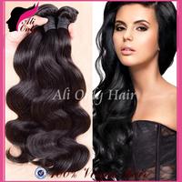 """Queen Hair Products Peruvian Virgin Hair Body Wave 8""""-30"""" Best Peruvian Body Wave Peruvian Hair Weave 3Pcs Human Hair Extension"""