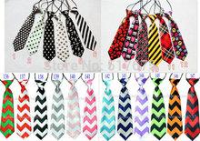 135 designs free shipping baby/kid/children ties neck tie ties Boys Girls tie 20pcs/lot silk print necktiesColors can choose(China (Mainland))
