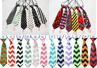 135 designs free shipping baby/kid/children ties neck tie ties Boys Girls tie 20pcs/lot silk print necktiesColors can choose