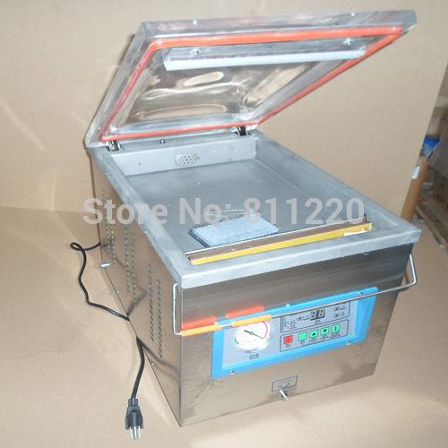 Vacuum sealer aluminum bags shrinking sealing machinery DZ-260 plastic package food,document,medical,electronic equipment tools
