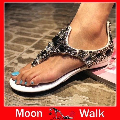 Free shipping eu 34-40 2013 hot sales Ladies fashion sandals Ladies lovely princess roman shoes rhinestone sandals J0211(China (Mainland))