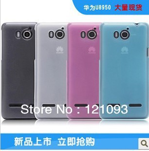 wholesale transparent HUAWEI HONOR 2 U9508 u8950d  c8950d G600 CASE SOFT TPU  COVER CASE +Free screen protector
