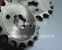 For YAMAHA YBR125 TT-R110 for HONDA CT110 FOR BETA125 motorcycle YBR 125 428 CHAIN  front sprocket 15 16 17 teeth sprockets