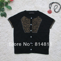 Free Shipping 2013 HOT SALE Summer Autumn Hand Knitted Decoration Pattern Women Knitted Sweater 0024