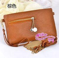 NEW 2013 Fashion messenger bags one shoulder handbag  women designer handbag day clutch wholesale free shipping