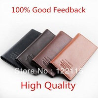 FREE SHIPPING male long design genuine leather wallets men's cowhide/cowskin leather wallets/purse/card holders for men  MQB17