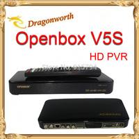 2pcs Original Openbox V5S HD satellite receiver V5S openbox DVB-S2 support weather forecast newcamd