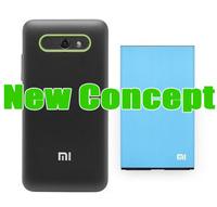 Xiaomi m2s Big battery Xiaomi M2 Battery 3100 mah m2s 3100 mah Original Quality One Protector film As gift // The last 100 Sets