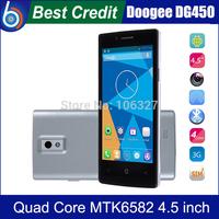 "Screen films)gift!Original DOOGEE LATTE DG450 4.5"" MTK6582 Quad Core CellPhone 1.3GHz 1GB RAM 4GB ROM Camera 8.0MP GPS 3G/Kate"