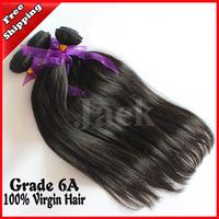 Hair Extensions Cheap Malaysian Virgin Hair Straight 2 pcs lot,Free Shipping,Grade 6A,100% Human Remy Hair weave