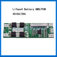 Free shipping 4S 10A lifepo4 PCM Lifepo4 12.8V for lifepo4 12v battery pack
