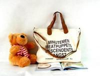 Popular star bag Canvas Woman Leisure handbag Ladies Shoulder bag letter casual clutch bag fashion Tote Messenger bags handbag