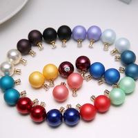 2014 New jewelry set fashion charms big pearl bracelet bangle necklace set designer wholesale free shipping