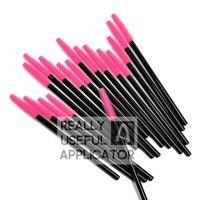 200 pcs Rubber Eyelash Extension One-Off Disposable Makeup Mascara Wand Brush Applicator Tool Free Shipping Dropshipping RUA RS