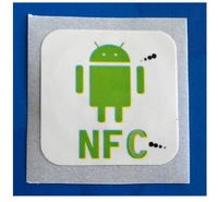 Free shipping(10 pcs) NFC Smart Tags Stickers 13.56Mhz Rfid Tag Adhesive Label for Samsung HTC Nokia Sony Xperia Oppo LG