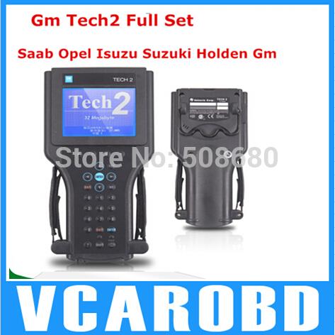 GM TECH2 support 6 software(GM,OPEL,SAAB ISUZU,SUZUKI HOLDEN) Vetronix gm tech 2 with candi interface(China (Mainland))